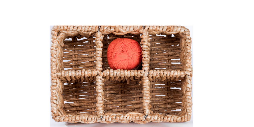 Kids Toy Storage | Wicker basket with open top